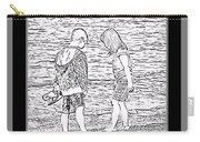 Collecting Seashells By The Seashore Carry-all Pouch