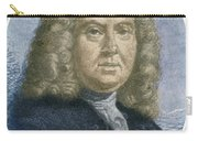 Colley Cibber, English Poet Laureate Carry-all Pouch