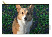 Collie Carry-all Pouch by Bill Cannon
