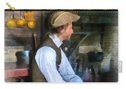 Colonial Man In Kitchen Carry-all Pouch