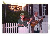 Colonial Musicians By Firelight Carry-all Pouch