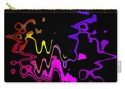 Color Melting Abstract Carry-all Pouch