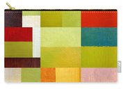 Color Study Abstract 9.0 Carry-all Pouch by Michelle Calkins