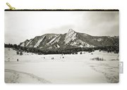Colorado Boulder Flatirons  Carry-all Pouch