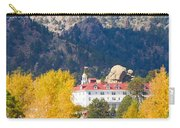 Colorado Estes Park Stanly Hotel Autumn View Carry-all Pouch