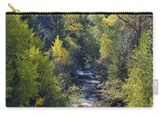 Colorado Left Hand Creek Boulder County Autumn View Carry-all Pouch