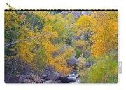 Colorado Rocky Mountain Autumn Canyon View Carry-all Pouch