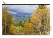 Colorado Rocky Mountain Autumn Scenic Drive Carry-all Pouch
