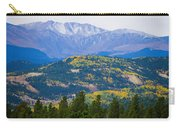 Colorado Rocky Mountain Autumn View Carry-all Pouch