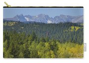 Colorado Rocky Mountain Continental Divide Autumn View Carry-all Pouch