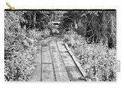Colorado Rocky Mountain Forest Path Bw Carry-all Pouch