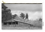 Colorado Rustic Autumn High Country Barn Bw Carry-all Pouch