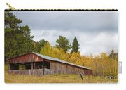 Colorado Rustic Autumn High Country Barn Carry-all Pouch
