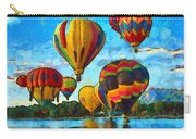 Colorado Springs Hot Air Balloons Carry-all Pouch by Nikki Marie Smith