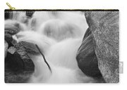 Colorado St Vrain River Trance Bw Carry-all Pouch
