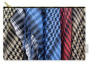 Colored Palestinian Keffiyeh Carry-all Pouch