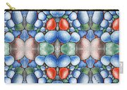 Colored Rocks Design Carry-all Pouch