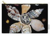 Colored Seashells Carry-all Pouch