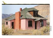 Colorful Abandoned Home In Dying Farm Town Carry-all Pouch
