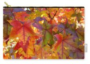 Colorful Autumn Leaves Art Prints Trees Carry-all Pouch