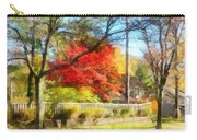 Colorful Autumn Street Carry-all Pouch