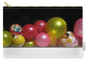 Colorful Balls In The Shop Window Carry-all Pouch by Ausra Huntington nee Paulauskaite