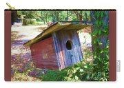 Colorful Birdie House Carry-all Pouch