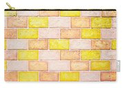 Colorful Brick Wall Carry-all Pouch