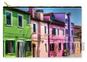 Colorful Burano Italy Carry-all Pouch
