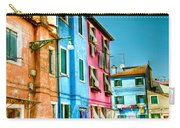 Colorful Burano Carry-all Pouch