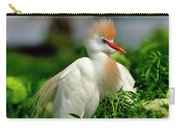 Colorful Cattle Egret Carry-all Pouch