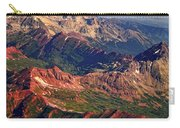 Colorful Colorado Rocky Mountains Planet Art Carry-all Pouch by James BO  Insogna