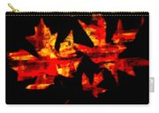 Colorful Fall Leaves Carry-all Pouch