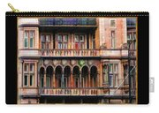 Colorful Fastasy British Building Carry-all Pouch
