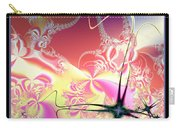 Colorful Frost Fractal 126 Carry-all Pouch