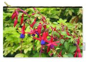 Colorful Fuchsia Carry-all Pouch