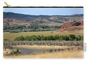 Colorful Hills Of Wyoming Carry-all Pouch