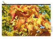 Colorful Leaf Cluster Carry-all Pouch