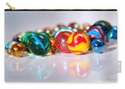 Colorful Marbles Carry-all Pouch by Carlos Caetano