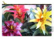 Colorful Mixed Bromeliads Carry-all Pouch