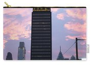 Colorful Morning Sky In Philly Carry-all Pouch