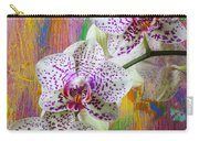 Colorful Orchids Carry-all Pouch