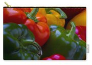 Colorful Peppers Carry-all Pouch