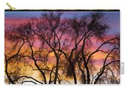 Colorful Silhouetted Trees 26 Carry-all Pouch