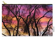 Colorful Silhouetted Trees 27 Carry-all Pouch