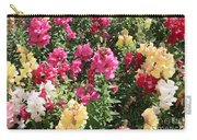 Colorful Snapdragons In San Antonio Carry-all Pouch