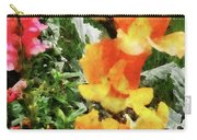Colorful Snapdragons Carry-all Pouch