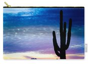 Colorful Southwest Desert Sunrise Carry-all Pouch