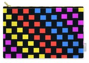 Colorful Squares Carry-all Pouch by Louisa Knight
