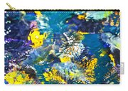 Colorful Tropical Fish Carry-all Pouch by Elena Elisseeva